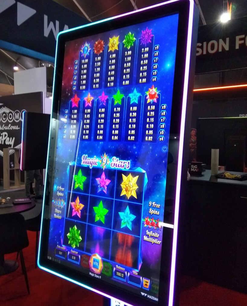 SiGMA slots and games on display